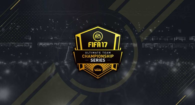 Logotipo de FIFA17 ultimate team championschip series