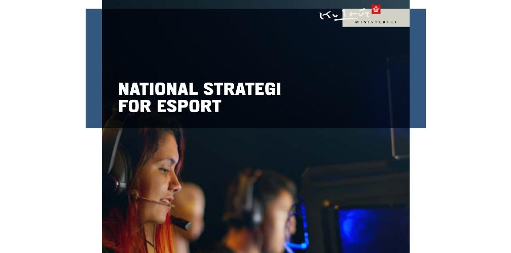 Portada de la National strategi for esport de Dinamarca