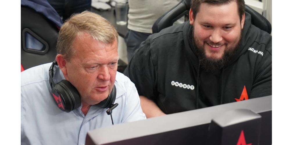 Presidente de Dinamarca jugando con Astralis