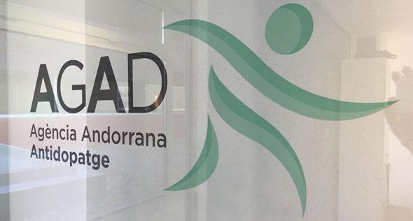 Logotipo de la Agencia Andorrana Antidopatge
